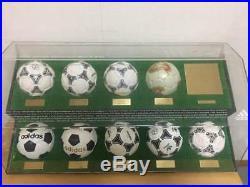 1970 to2002 FIFA World Cup Historical Matchball Adidas team sports goods rare 1O