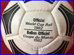san francisco special sales factory authentic 1982 Spain FIFA World Cup Adidas Tango España Official Match ...