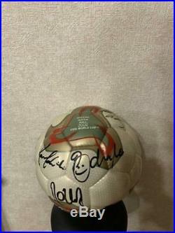 2002 FIFA World Cup Brazil National Team Sign Ball Official Match Adidas soccer
