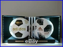 2018 FIFA World Cup Premium Official Match Ball Pack (in LED Display Box)