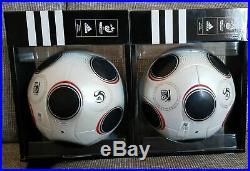 2 Adidas Matchball Europass EM 2008 Soccer Ballon Football Pallone Voetbal Balls