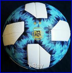 ADIDAS Argentum AFA 19 OMB DY2520 Official Match Football Soccer Ball size 5