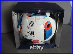 ADIDAS EM 2016 BEAU JEU Fussball Matchball Sweden Belgium EURO Imprint