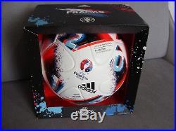 ADIDAS EM 2016 Fracas Fussball Matchball Wales Belgium EURO Imprint