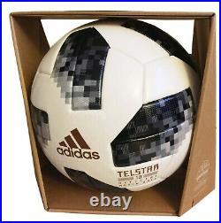 ADIDAS FIFA World Cup Official Football Soccer Telstar 18 Russia Match Ball OMB