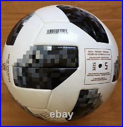 ADIDAS FIFA World Cup Official Game Ball Soccer Telstar 18 Russia