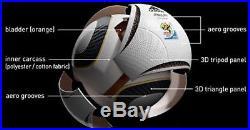ADIDAS OFFICIAL MATCH BALL JO'BULANI JOBULANI JABULANI -WORLD CUP Final