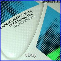 ADIDAS SUPER CUP 2016 SOCCER BALL FIFA APPROVED 2016 bs3749