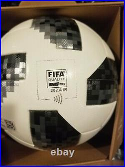 ADIDAS TELSTAR 18 FIFA World Cup 2018 Russia OFFICIAL MATCH BALL With NFC Chip