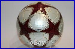 ADIDAS UEFA CHAMPIONS LEAGUE 2008/09 FINAL ROME 2009 MATCH Ball NEW JFA BALL OMB