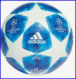 ADIDAS UEFA CHAMPIONS LEAGUE BLUE STAR OFFICIAL Match BALL 2018-19