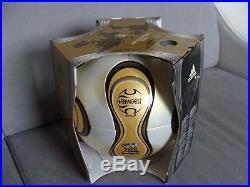 ADIDAS WM 2006 Deutschland Teamgeist Berlin Finale Gold Matchball World Cup OMB