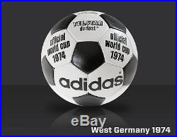 AdidasTelstar Durlast 1974 FIFA World Cup West Germany Match Soccer Ball Size 5