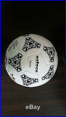 Adidas 1986 MEXICO Worldcup AZTECA historical ball OMB tricolore teamgeist