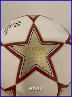 Adidas 2010 Champions League Finale Madrid Soccer Ball Brand New