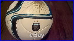Adidas Argentum 2015 OMB Balon de Juego Oficial Official Matchball soccer Box