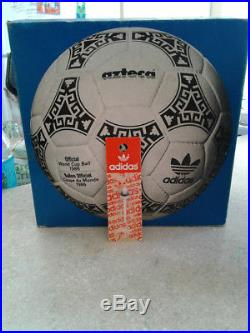 Adidas Azteca World Cup1986 Made in France with Box, no etrusco, no telstar