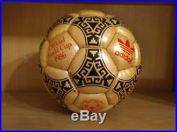 Adidas Azteca mexico soccer ball 1986 no tango telstar durlast world cup omb