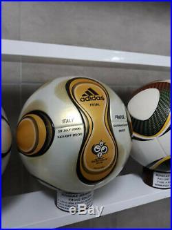 Adidas Ball Official Teamgeist Gold Final World Cup 2006 + Imprints