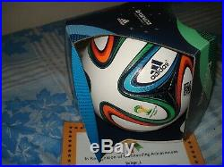 Adidas Brazuca 2014 World Cup FIFA Official Match Ball Soccer Size 5