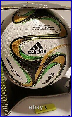 Adidas Brazuca 2014 World Cup Final Authentic Official Match Ball OMB (1)