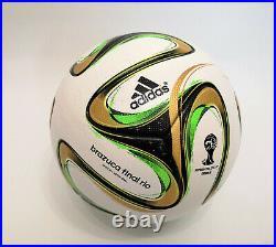 Adidas Brazuca + Brazuca Final Rio WM 2014 Fussball matchball