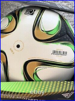 Adidas Brazuca Final Rio OFFICIAL Matchball 2014 Fifa World Cup 5 football boxed