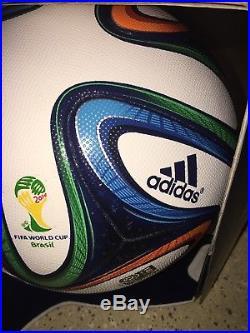 Adidas Brazuca Official World Cup 2014 Brazil Match Soccer Ball Size 5