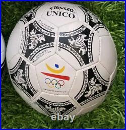 Adidas Etrvsco Unico 1992 Olympics Official Match Ball Etrusco Barcelona Spain