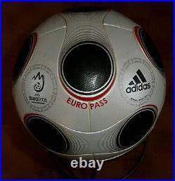 Adidas Europass Euro 2008 Official Matchball Gr. 5 Fb. Silber Neu Top