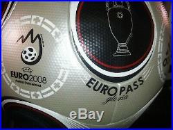 Adidas Europass Official Match Ball Euro 2008 Vienna Austria GLORIA NIB SIze 5
