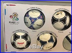 Adidas European Championship Beckham Zidane CR7 Historical Mini Soccer Ball Set