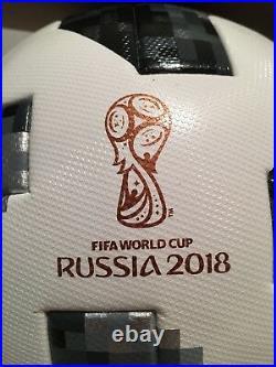 Adidas FIFA World Cup 2018 Russia Official Soccer Match Ball Telstar 18 Size 5
