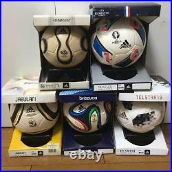 Adidas FIFA World Cup Soccer Memorial Mini Ball Set 1970 2018 Very Rare F/S N0
