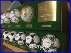 Adidas FIFA World Cup Soccer Mini Ball 1970 2018 Football Rare Item