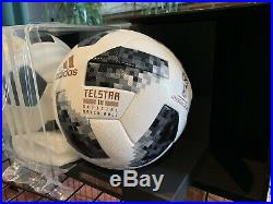 Adidas Fifa 18 World Cup Premium Offical Match Ball OMB Light Up Display CW5053