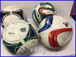 Adidas Fifa Pro Match Soccer Balls Brazuca MLS Tango 4 Pack Size 5