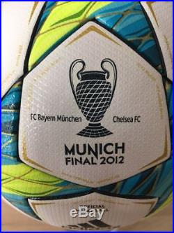 Adidas Finale 12 Munich München OMB with imprint FC Bayern vs Chelsea FC