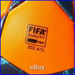 Adidas Finale 17 Omb Winter Match Ball Orange/blue High Visiblity