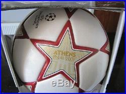 Adidas Finale 2010 Madrid Football New Box Pristine Collectors Piece