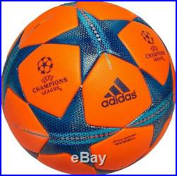 Adidas Finale 2015 Winter Official Match Soccer Ball Bright Orange/bright Cyan/