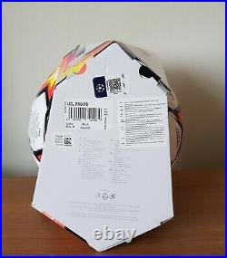 Adidas Finale 21 Official Match Ball UEFA Champions League 2021 RRP £120