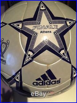 Adidas Finale 7 Athens OMB with imprint AC Milan vs Liverpool FC