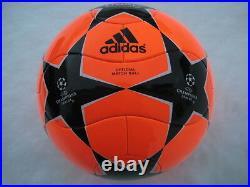 Adidas Finale 8 Powerorange Match Ball Matchball Teamgeist Shape Rare Item New