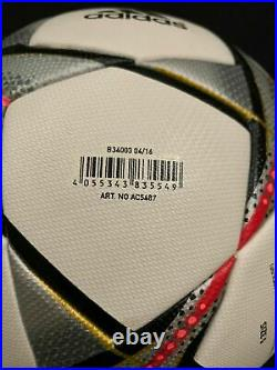 Adidas Finale Milano 2016 Champions League Finale 2016 Matchball OMB UEFA AC5487