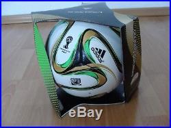 Adidas Fussball Brazuca Final Rio 2014 WM Brasilien Offcial Matchball OMB