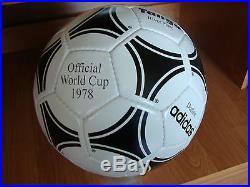 Adidas Fussball Tango River Plate 1978 WM Argentinien Made in Pakistan Matchball