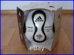 Adidas Fussball Teamgeist Opening OMB WM 2006 Matchball Deutschland imprint