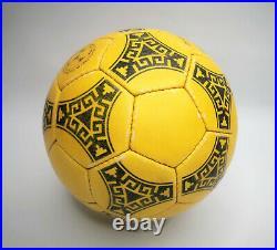 Adidas Fussball azteca México gelb Official World Cup Ball 1986 Matchball