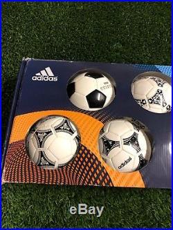 Adidas Historical Mini Ball Set FIFA New Size 1 World Cup WC